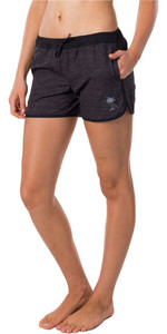 2020 Rip Curl Mujeres Cacao Beach Ii Boardshorts Gboea1 - Negro