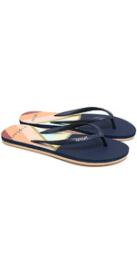 2020 Rip Curl Womens Sun Setters Flip Flops TGTE99 - Multi Colour