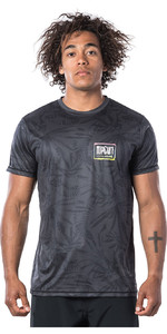 2020 Rip Curl Herre Native Kortærmet Uv T-shirt Wle9em - Sort