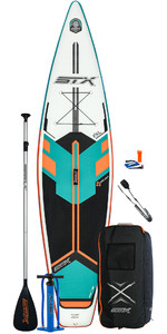 Prancha Stx Touring 11'6 Inflável Stand Up Paddle Board 2020 - Prancha, Bolsa, Remo, Bomba E Trela - Mint / Orange