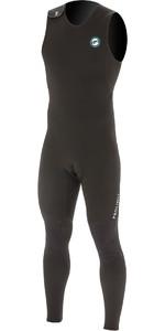 2020 Prolimit Heren 1.5mm Prolimit Long John Wetsuit 84450 - Zwart / Blauw