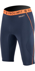 2020 Prolimit Herren 1,5 Neopren Sup Shorts 84510 - Schiefer / Orange