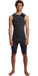 2020 Billabong Hombres Revolution 2mm Short John Wetsuit S42m61 - Negro Camo