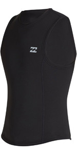 2020 Billabong Mens Absolute 2mm Neopren - Weste S42m75 - Schwarz
