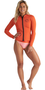 2020 Billabong Womens Peeky 1mm Neoprene Jacket S41G61 - Samba