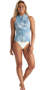 2020 Billabong Frauen Salty 1mm Neoprenweste S41g54 - Blaue Palms
