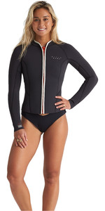 2020 Billabong Dames Eco Peeky 2mm Neopreen Jas S41G51 - Onyx