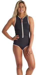 Billabong 2020 Billabong Mujer Eco Sol Sistah 2mm Sin Mangas Shorty Wetsuit S42g52 - Onyx