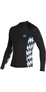 2020 Billabong Mens Revolution Interchange 2mm Neoprene Jacket S42M59 - Bermuda