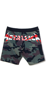 2020 Billabong Herre Ai Metallica Boardshorts S1bs81 - Sort