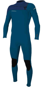 2020 O'Neill Mens Hammer 3/2mm Chest Zip Wetsuit 4926 - Blue / Navy