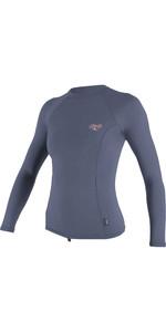 2020 O'Neill Womens Premium Skins Long Sleeve Rash Vest 4172B - Mist