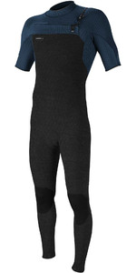 Wetsuit De Manga Curta Hyperfreak 2mm Chest Zip Gbs 2021 O'neill Para Homem 5066 - Acid Wash / Abyss