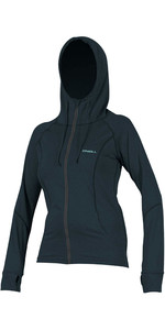 2020 O'Neill Womens Hybrid Long Sleeve Zipped Sun Hoody 5054 - Slate