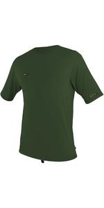 2020 O'neill Herres Premium Skins Solskjorte Kortærmet 5301 - Mørk Olive