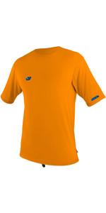 2020 O'Neill Youth Premium Skins Sun Shirt 5303 Met Korte Mouwen - Blaze