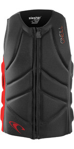 2020 O'Neill Youth Slasher Comp Impact Vest 4940beu - Graphite / Rood