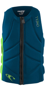 2020 O'Neill Youth Slasher Comp Impact Vest 4940beu - Ultra Blue / Day Glo
