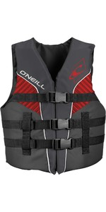 2020 O'Neill Youth Superlite 50N ISO Impact Vest 4725eu - Rook / Graphite / Rood
