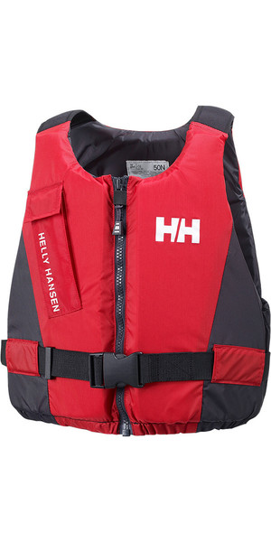 2018 Helly Hansen 50N Gilet Rider / Giubbotto salvagente RED 33820