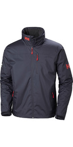 2019 Helly Hansen Crew Midlayer Jacket Graphite Blue 30253