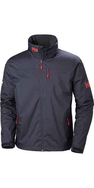 2019 Helly Hansen Crew Jacket Graphite Blue 30263
