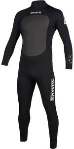2020 Mystic Dos Homens Brand 3/2mm Back Zip Wetsuit 200066 - Preto