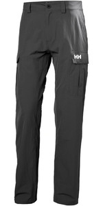 2020 Helly Hansen Qd Pantalones Cargo Ebony 33996