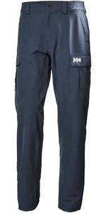 2019 Helly Hansen Qd Pantalones Cargo Navy 33996