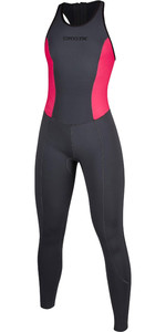 2020 Mystic Das Mulheres Diva 2mm Back Zip Long Jane Wetsuit 200073 - Cinza Fantasma