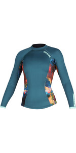 2020 Mystic Womens Diva 2mm Long Sleeve Neoprene Top 200075 - Teal