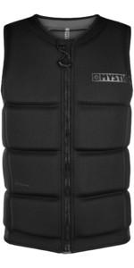 2021 Mystic Junior Star Impact Vest Front Zip 200182 - Black