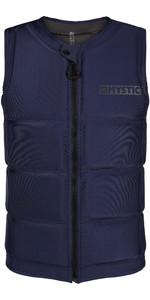 2021 Mystic Mens Star Impact Vest Front Zip 200182 - Petrol
