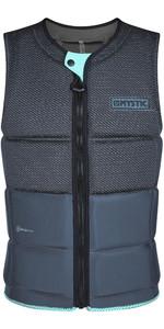 2020 Mystic Men's Marshall Impact Vest Front Zip 200181 - Noir / Mint