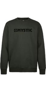 2020 Mystic Heren Vuursteen Sweatshirt 200045 - Dapper Groen