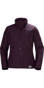 2019 Helly Hansen Womens Crew Insulator Jacket Purple 34071