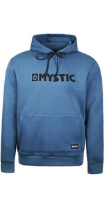2020 Mystic Men Brand Hood Sweat 190035 - Azul Denim