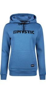 2020 Mystic Des Femmes Brand De Sweat à Capuche 190537 - Bleu Denim