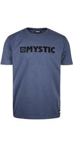 T-shirt De La Brand Mystic 2020 Pour Hommes 190015 - Bleu Denim