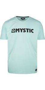 2020 Mystic Dos Homens Brand T-shirt 190015 - Verde Menta