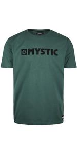 2020 Mystic Dos Homens Brand T-shirt 190015 - Oceano Profundo