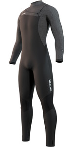 2021 Mystic Mens Majestic 5/3mm Front Zip Wetsuit 210056 - Black