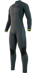 2021 Mystic Mannen Majestic 3/2mm Front Zip Wetsuit 210.058 - Donker Blad