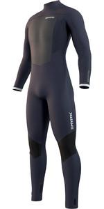 2021 Mystic Mannen Majestic 5/3mm Back Zip Wetsuit 210.059 - Nachtblauw