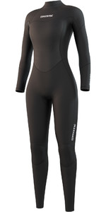 2021 Mystic Womens Star 5/3mm Back Zip Wetsuit 210317 - Black