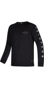 2021 Mystic Mens The One Long Sleeve Quick Dry Rash Vest 210144 - Black