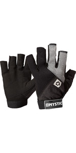 2021 Mystic Junior Rash Short Finger Gloves 130460 - Black
