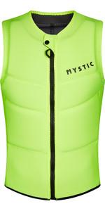 2021 Mystic Hommes Star Front Zip Impact Gilet 210122 - Jaune éclair