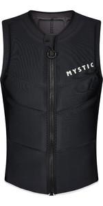 2021 Mystic Hommes Star Front Zip L' Impact Gilet 210122 - Noir