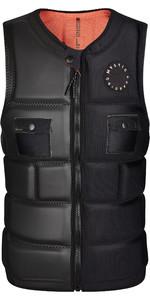 2021 Mystic Mens VOLTT Front Zip Impact Vest 210155 - Black